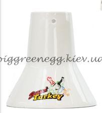Керамическая стойка для индейки Sittin' Turkey Big Green Egg