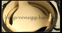 Отсекатель жара для Big Green Egg L