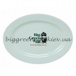 Блюдо Большое Зеленое Яйцо 45.72cm