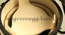 Отсекатель жара для Big Green Egg XL