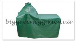 Вентилируемый премиум-чехол для длинного стола с ручкой Big Green Egg L;  M