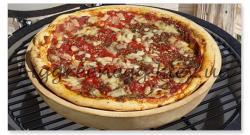 Глубокая форма для пиццы 36см Big Green Egg