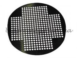 Круглая фарфоровая решётка с отверстиями - диаметр 33cm Big Green Egg