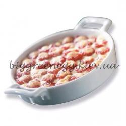Revol Блюдо овальное для крем-брюле, белое, 350мл